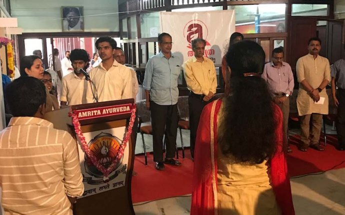 Amrita Sparsham Ayurveda Cancer Clinic Inaugurated at Amrita