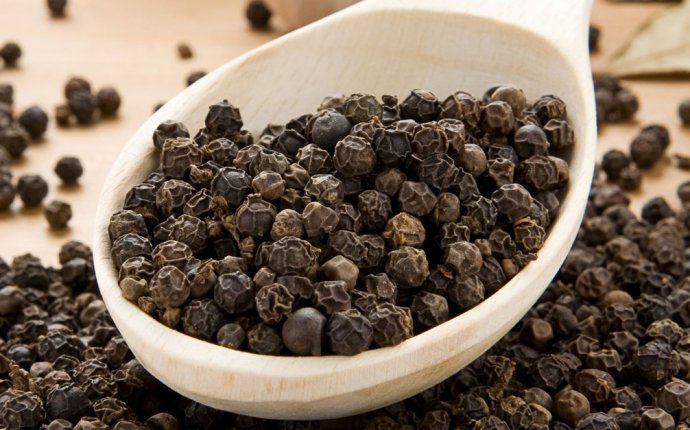 Black Pepper is used in the food during cooking, but in addition