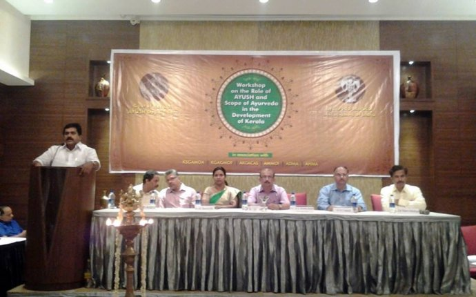 Workshop on the Role of AYUSH and the scope of Ayurveda in the