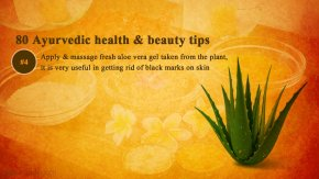 Ayurvedic beauty tips for pimples, acnes, black marks - Ayurveda home remedies, treatment image