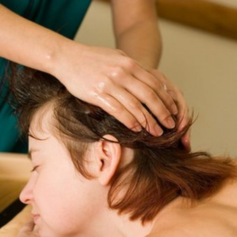 Ayurvedic massage is widely available in India.