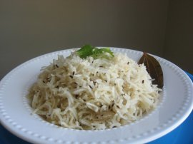 Ayurvedic Recipe and Benefits of Cumin Basmati Rice