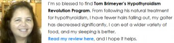 Read Hypothyroidism Revolution Review here